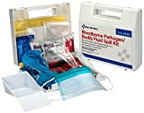 Product review for Pac-Kit by First Aid Only Wall-mounted Bloodborne Pathogen and Bodily Fluid Spill Kit in Plastic Carry Case, OSHA, 24 Pieces, White, Portable (214-U/FAO)