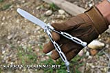 YF 8.9 Inch Butterfly Training Knife with Matte