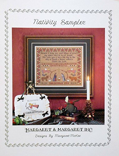 (NATIVITY SAMPLER LEAFLET COUNTED CROSS STITCH NEW!)