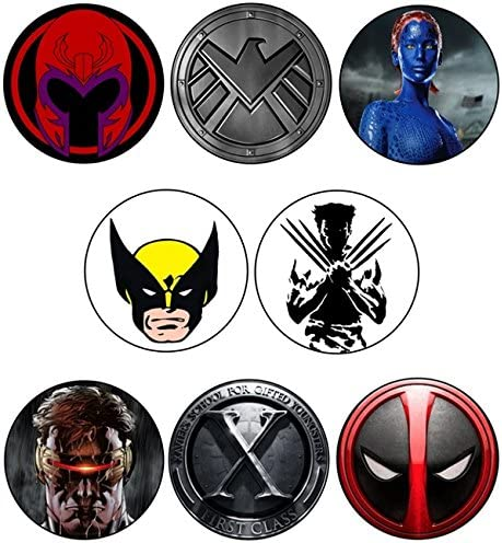 SPQR Craft X-Men Colección - insignia/Imán/llavero/llavero ...