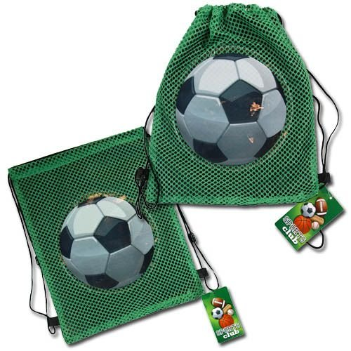 (15 count) Soccer sling Bag TOTE - Party Favors by UPD