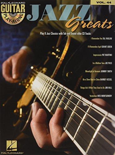 Jazz Greats: Guitar Play-Along Volume 44 (Hal Leonard Guitar - Guitar Jazz Tablature