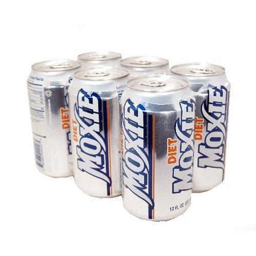 Moxie Soda Diet 4/6pks