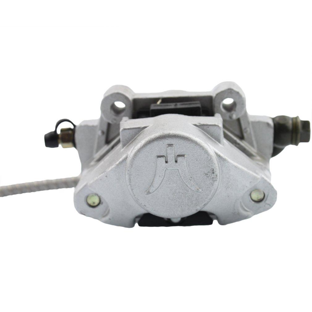 GOOFIT Rear Disc Brake Assembly Master Cylinder Caliper for 150cc 200cc 250cc Chinese Taotao ATV Quad