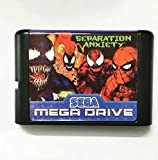 Taka Co 16 Bit Sega MD Game Spiderman and Venom in Separation Anxiety Game Cartridge Newest 16 bit Game Card For Sega Mega Drive / Genesis System