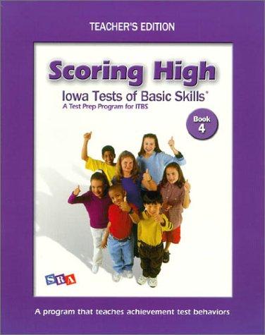 Scoring High on Itbs: Teacher Edition Grade 4
