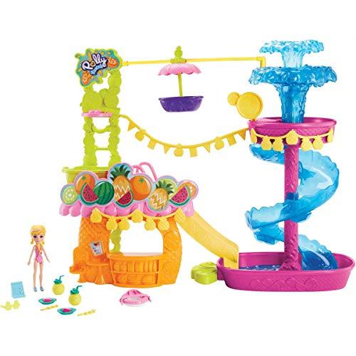 Parque Aquático Dos Abacaxis Polly Pocket Mattel Multicor