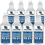 MaxTite Isopropyl Alcohol 99.9% (2 Gallons (32oz, 8 Pack)) (Tamaño: 2 Gallons (32oz, 8 Pack))