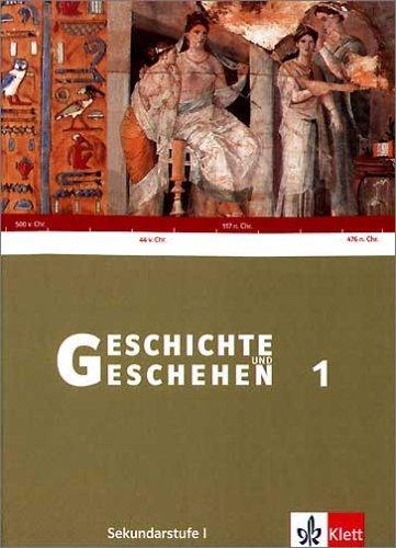Geschichte und Geschehen 1. Ausgabe Baden-Württemberg Gymnasium: Schülerband Klasse 6 (Geschichte und Geschehen. Sekundarstufe I) Taschenbuch – 1. September 2004 Werner Abelein Ursula Fries Peter Gautschi Klett