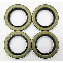 Set of 4 Trailer Hub Grease Seals E-Z Lube 5200-7000lbs Axle 2.25 x 3.371 -22029