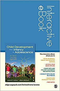 Book Child Development From Infancy to Adolescence Interactive eBook Student Version: An Active Learning Approach by Laura E. Levine (2015-01-28)