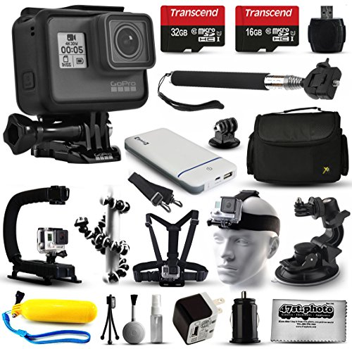 GoPro HERO6 Session HD Action Camera  with 32GB Card + Case