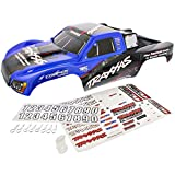 Traxxas Slash 2WD On-Board Audio * BLUE & BLACK BODY - DECALS - CLIPS & WASHERS *