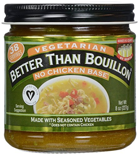 Better Than Bouillon, Bouillon, No Chicken Base, Vegetarian, 8 oz (Pack of 6)