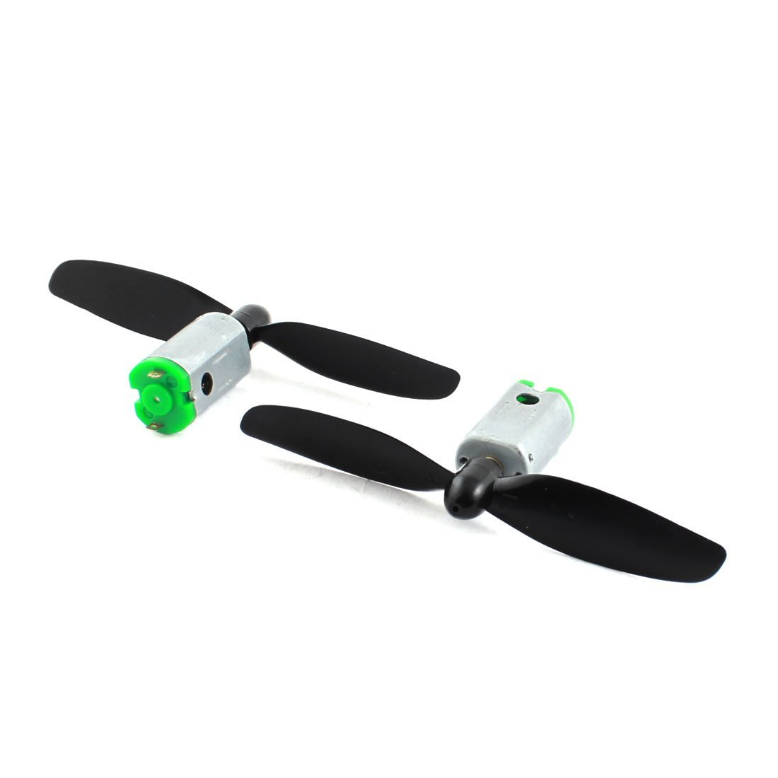 Friction fit DC motor propellers