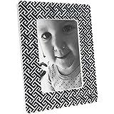 Modern Design Tiny Trellis Print Photo Frame