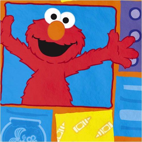 Elmo Loves You Beverage Napkins, ()