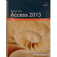 Microsoft Office Access 2013: Basic Functions