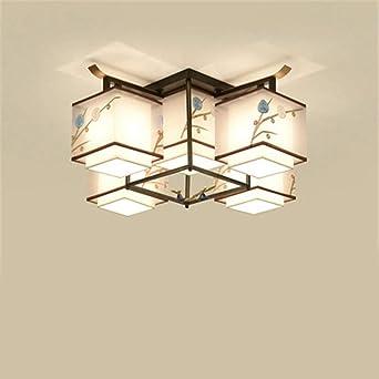 LNLW Techo de la lámpara del estilo chino luces de la iluminación ...