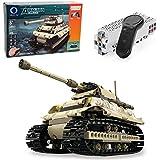 MOTION Kids Toys Educational Remote Control Building Bricks kit (Military Tank-1)