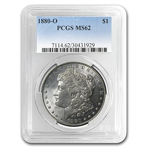 1880 O Morgan Dollar MS-62 PCGS Dollar MS-62 PCGS