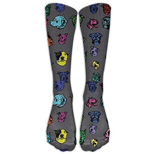 Style Unisex Socks Casual Knee High Stockings Pitbull