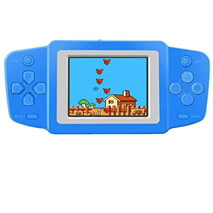 7bfed1d7c91a5 Great Boy Handheld Games Console for Kids with Built in 268 Mini Video Games  Device Fun