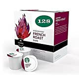 Starbucks French Roast, K-cup for Keurig Brewers, 128 Count