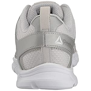 Reebok Women's Run Supreme 3.0 MT Sneaker, Skull Grey/Silver/White, 8 M US