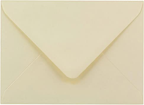 C7 Ivory Cream Envelopes by Cranberry Pack of 200