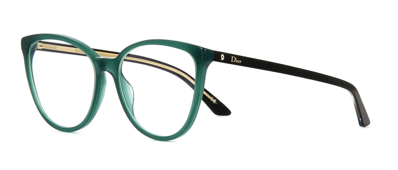84d1fd5c5b6 Eyeglasses DIOR Montaigne 25 SFO HS Size 53 16 140 at Amazon Women s  Clothing store
