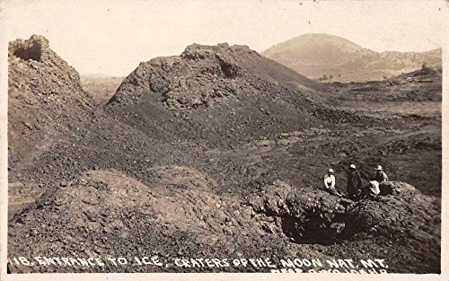 Craters of the Moon National Monument Idaho Real Photo Antique Postcard J74103