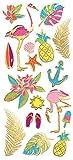 Paper House Productions Stickers Faux Enamel, Neon