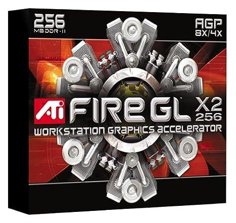 ATI FireGL X2 - 256 Tarjeta gráfica AGP 256 MB FGL 9800 DDR2 ...