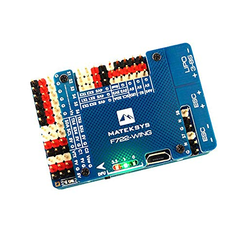 Makerfire Mateksys Flight Controller F722 Wing Built in OSD High Precision Current Sense for RC Airplane Fixed Wing Mounting 30.5 x 30.5mm