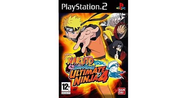 Ultimate Ninja 4: Naruto Shippuden (PS2) by Atari: Amazon.es ...