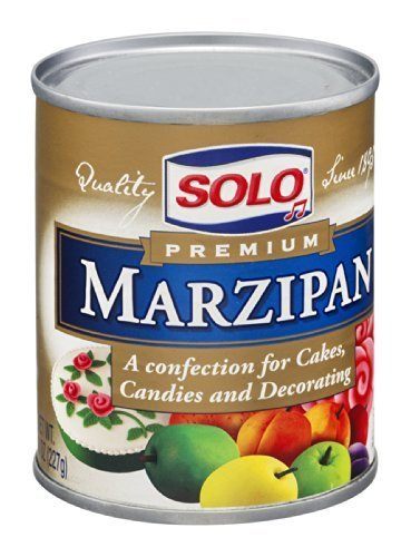 SOLO PASTE MARZIPAN, 8 OZ