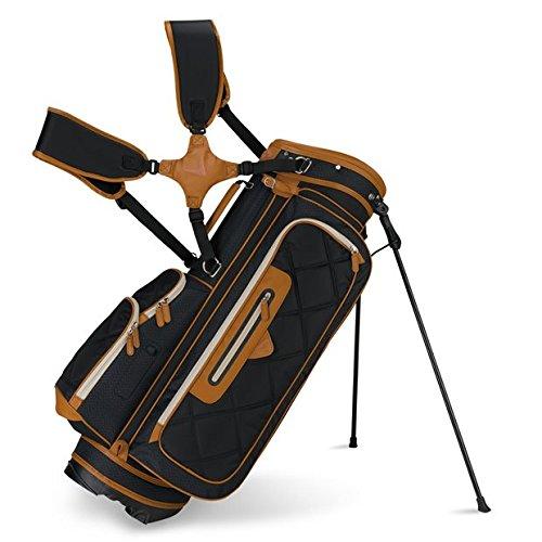 Callaway 2015 Up Town Golf Stand Bag, Black/Brown ()