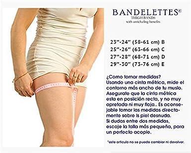bande di pizzo elastico per evitar lo stiramento dei muscoli Giarrettiere