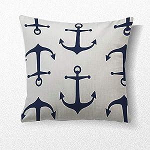 511NDuUpiYL._SS300_ 100+ Nautical Pillows & Nautical Pillow Covers