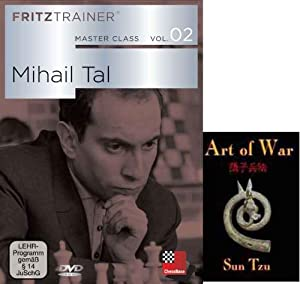 "Master Class Vol. 2: Mihail Tal & ChessCentral's ""Art of War"" E-Book: (2 Item Bundle)"