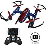 """Force1 Drones with Camera – """"U28W Peregrine"""" Mini Drone with Camera Live Video with WiFi 720p FPV Drone Camera and Micro SD Card + Card Reader (Certified Refurbished)"""