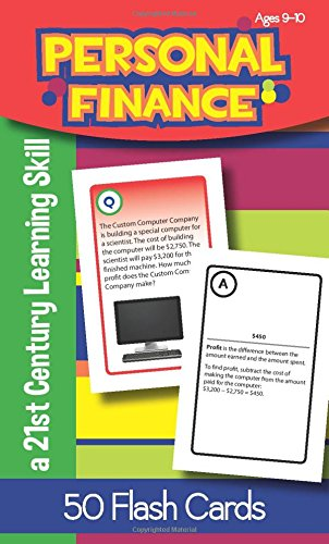 Personal Finance for Ages 9-10 Flash Cards