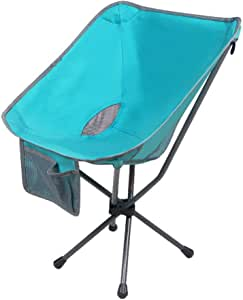 Amazon.com : YLCJ • Portable Swivel Camping Chair, Folding ...