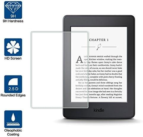 Beiuns Vidrio Templado Protector de Pantalla para Amazon Kindle ...