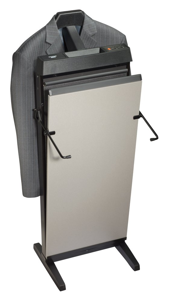 CORBY 4400 TROUSER PRESS. 15 & 30 MINUTE TIMER. SATIN CHROME FINISH. 240 VOLTS / 230 WATTS Great gift idea Ironing Ironing_Utility Valet Stand