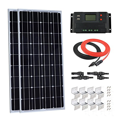 solar panel starter kit monocrystalline