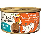 Muse by Purina Grain-Free Pate Natural Chicken & Carrot Recipe Adult Wet Cat Food - 3 oz. Can
