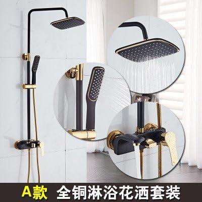 XBR se Europea cobre oro negro ducha disfraz Cold grifo de agua ...