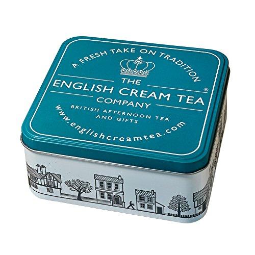English Cream Tea Gift Tin - Tea Towel, Sugar Heart, And Breakfast Tea Kit', Amazon's value is 'Gift Tin (Turquoise Gift Tin)